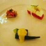 アルポルト - 前菜3種盛り合わせ