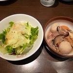 かしき屋福茂千 - サラダ・おばんざい