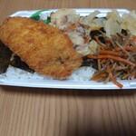 ほっともっと - 料理写真:シビ辛キーマカレーのり弁当大盛 440円