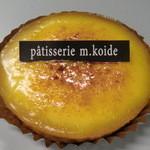 エムコイデ - パッションフルーツのタルト(ガトージュール:本日のケーキ)