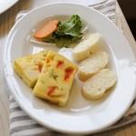 ワイズドッグカフェ ル・ジャルダン - ワンコ飯(お野菜たっぷりケークサレ小)
