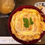 しまざき - カツ丼(500円)