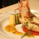 レストラン フォレスト - 大海老とずわい蟹のムース