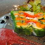 セルクル - 彩り野菜のテリーヌ