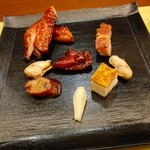 shinchuugokuryourikouryuu - 鶏、豚のロースト