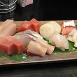 西成海鮮市場 ここ屋 - 料理写真:刺身盛り合わせ