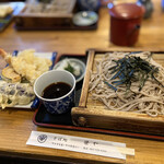 笹や - 料理写真:天ざる大盛