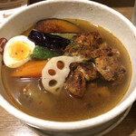 CURRY SHOP S - タンドリーチキンと野菜のカレー