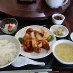 虎華 - 料理写真:Cスブタ(週替りセット)