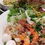 Saigonresutoran - ヘルシーなトッピング