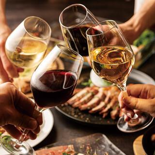 豊富なグラスワイン♪