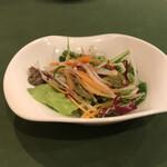 カンパーニャ - ある日のサラダ
