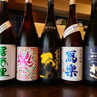 全国の日本酒が呑める店