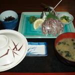 小浜食堂 - 料理写真:鯵たたき定食