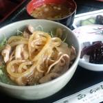 正ちゃん - 豚の生姜焼きどんぶり