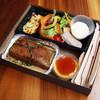 ル ブルターニュ バー ア シードル レストラン - 料理写真:平日 テイクアウト用ランチボックス