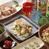 オーガニックキッチンFarve - 料理写真:人気メニュー勢揃いのコース料理がおすすめです。