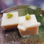 訶訶庵 - 胡麻豆腐