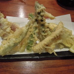 13127910 - 季節野菜の天ぷら