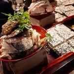 青森地酒専門店 あおもり湯島 - 人気ナンバーワン!サバの燻製ポテトサラダ