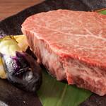 ヒレ肉の宝山 - 料理写真:シャトーブリアン