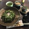 峠の茶屋 一軒家 - 料理写真:茶そばのセット