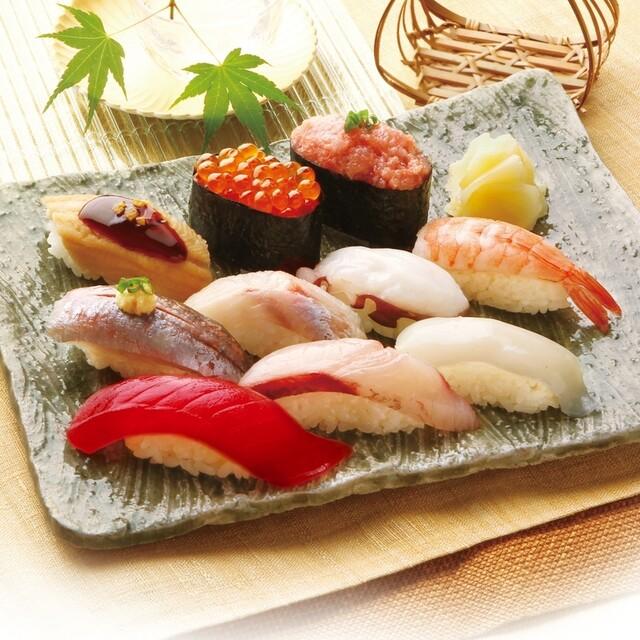 柿家鮨 田園調布店の料理の写真