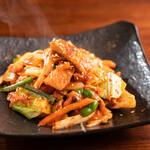 韓国食堂 あんず - 豚キムチ