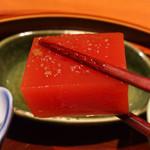 旬菜 甘の井 - 完熟トマト豆腐