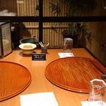 旬菜 甘の井 - この日に通された個室です♪
