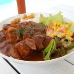 13128666 - グリル野菜と豚バラ肉のカレー