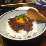 やきにく 三芳 - 締めには牛しぐれ煮ご飯をいただきました。