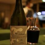 オステリア ジョイア - Bioの赤。トンボという名前のワインです