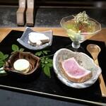 131281141 - いつもと同じ、10000円コース(税別)を頂きました。 ◆前菜盛り合わせ