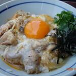 鶏鬨 - 炙り親子丼