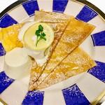 クレープリースタンド・シャンデレール - はちみつレモン