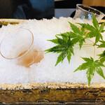 よし澤 - 食前酒 梅酒
