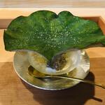 よし澤 - 千葉県竹岡産太刀魚 水茄子 京水菜 茗荷 新生姜 蓮の葉