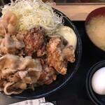 伝説のすた丼屋 - 料理写真:あいもり丼(830円)