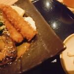 Tennosachiyamanosachi - ハンバーグ&エビフライランチ