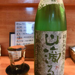 日の丸や - 日置桜 特別純米生酒 「山滴る」(鳥取県・山根酒造場)