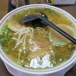 つばくら食堂 - 昔の中華そば(¥550)