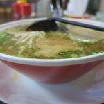 つばくら食堂 - スープたっぷりです