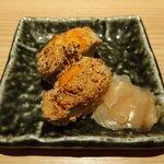 鮨・酒・肴 杉玉 - 海のフォアグラ雲丹バター炙り(2貫299円)