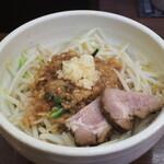 麺処 一笑 - スタベジ大盛り80円