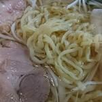 香福園 - 塩ラーメン  麺アップ