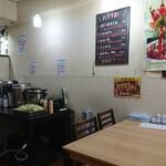 香福園 - ご飯、スープ、サラダ、杏仁豆腐が食べ放題