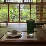 131308172 - 季節の上生菓子 冷抹茶セット 1,300円