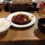 大阪トンテキ 大阪駅前第2ビル店 - トンテキ定食(200g)…800円