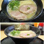 らーめん ふじ美 - 濃厚鶏白湯しお らーめん (愛知県岡崎市)